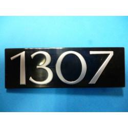 """monogramme """"1307"""""""
