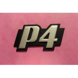 monogramme P4