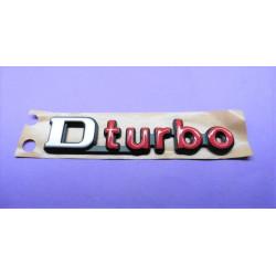 monogramme D-turbo