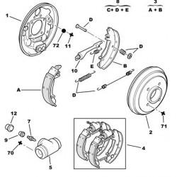 Cylindre de roue arrière 20.6mm