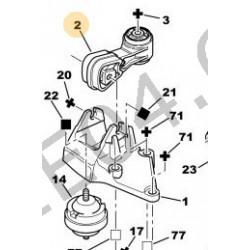support moteur DW10TD-DW12TD