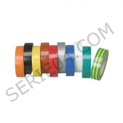 rouleaux adhésifs couleur panachés x10