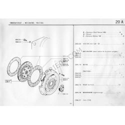 Mécanisme d'embrayage Ø135