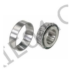 Kit of 2 tapered roller bearings, differential.
