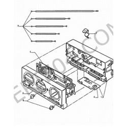 bouton de commande de climatiseur