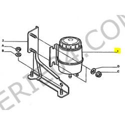 réservoir de pompe de direction assistée