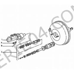 kit de réparation de maître cylindre de frein