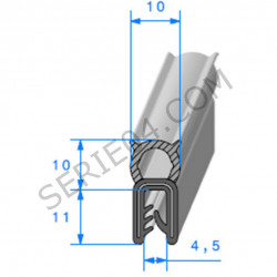 joint de coffre de Coupé 4030mm