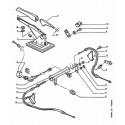 106 Brake cable - handbrake