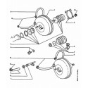 106 Maître cylindre - Mastevac - Pompe à vide - Pédale