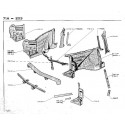203 frame - the front fenders liners - awning - Apron