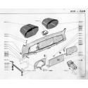 203 dashboard - ashtray - cigarette lighter - aerator