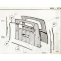 203 tailgate - Rear Lock - balancer