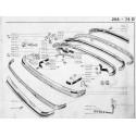 204-304 paraurti anteriore - Paraurti posteriore