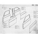204-304 Front door - porta posteriore - sedia a dondolo