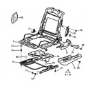 306 armrest - seat belts - seat