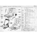504 armrest - seat belts - seat