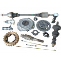 505 Clutch - Gearbox - rear axle - gimbal