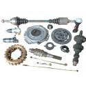 604 Clutch - Getriebe - Hinterachse - Kardan