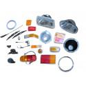 604 Beleuchtung - Scheibenwischer - Armaturenbrett - Strom