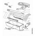 605 Tableau de bord - Cendrier - Allume-cigares - Aérateur