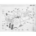 204-304 Faisceau - Fusible - Cosse électrique - Interrupteur