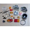 160 - 180 - 2L Eclairage - Essuie-Glace - Tableau de bord