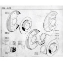 204-304 Brake Disc - Brake Pads - Caliper