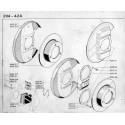 204-304 Disque - Plaquettes - Etrier