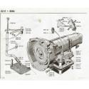 404 Boîte de vitesses ZF automatique