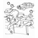 605 Refroidissement moteur essence V6 ZPJ-ZPJ4