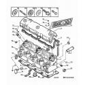 205 Haut moteur diesel et turbo-diesel XU