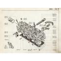 204-304 Haut moteur diesel 1L3-1L4-1L5 XLD-XID