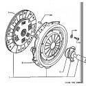 504 Embrayage moteur Diesel
