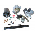806 Starter - dynamo - regulator - battery