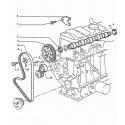 205 distribución, carburador motor gasolina e inyección TU