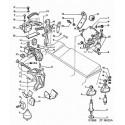 407-C5 soporte del motor