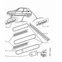 807-C8 Coffre arrière - Monogramme