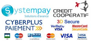 logo SystemPay Crédit Coopératif
